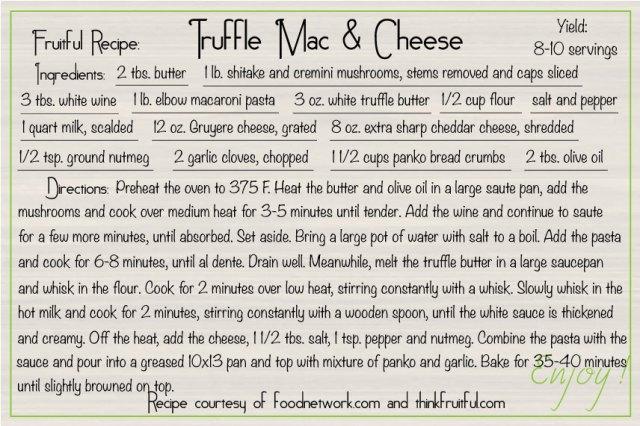 truffle-mac-&-cheese