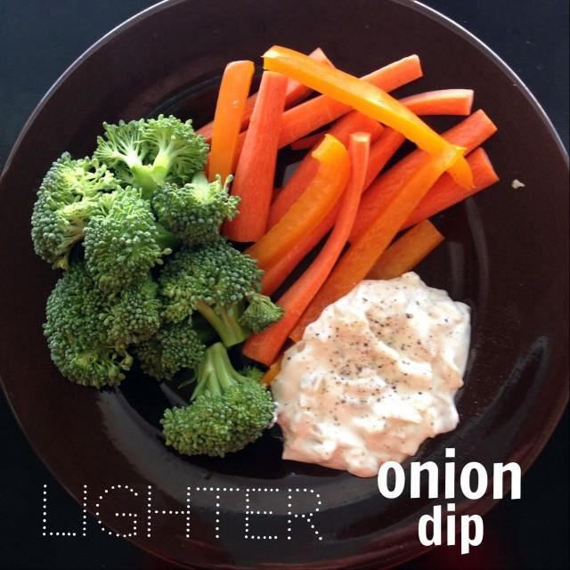 Simple Saturday: Lighter Dip