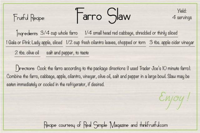 farro-slaw